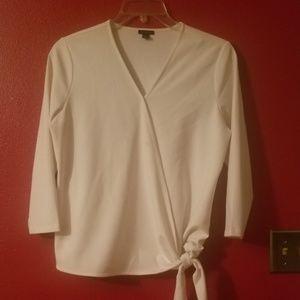 Ann Taylor wrap shirt.
